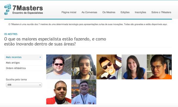 7 Mestres iOS